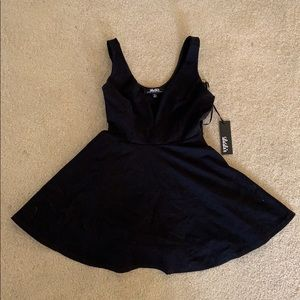 Lulu's black minidress, S